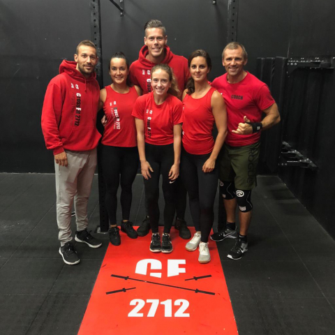 CrossFit 2712 finalisten Lowlands Throwdown 2018