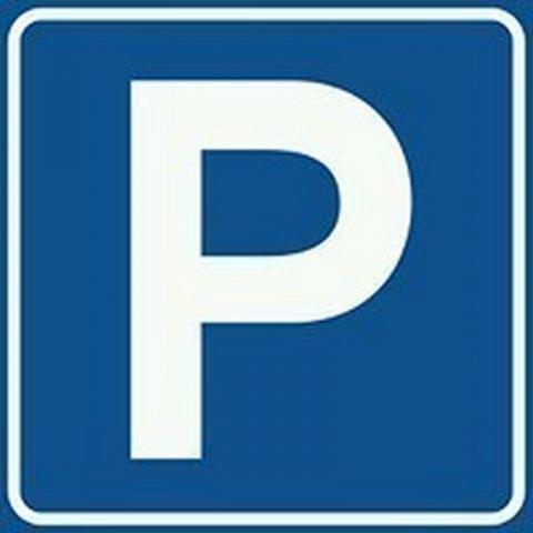 bord parkeerplaats