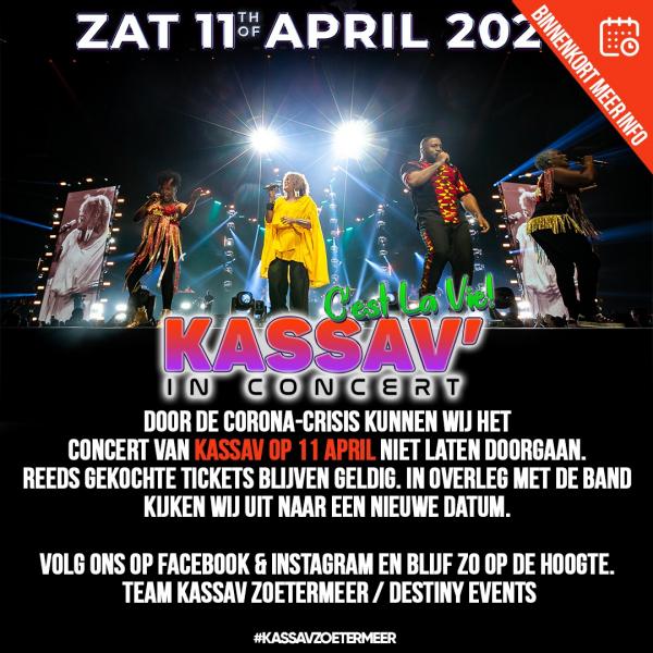 Kassav in concert bij Silverdome Zoetermeer