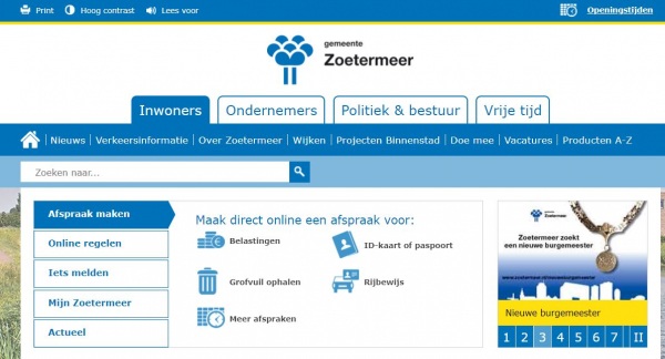 website gemeente
