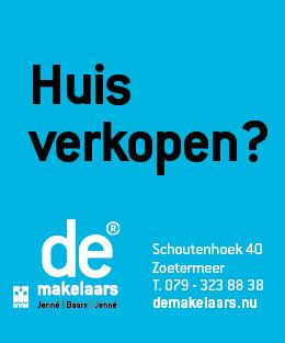 Dé makelaar voor je huis in Zoetermeer!