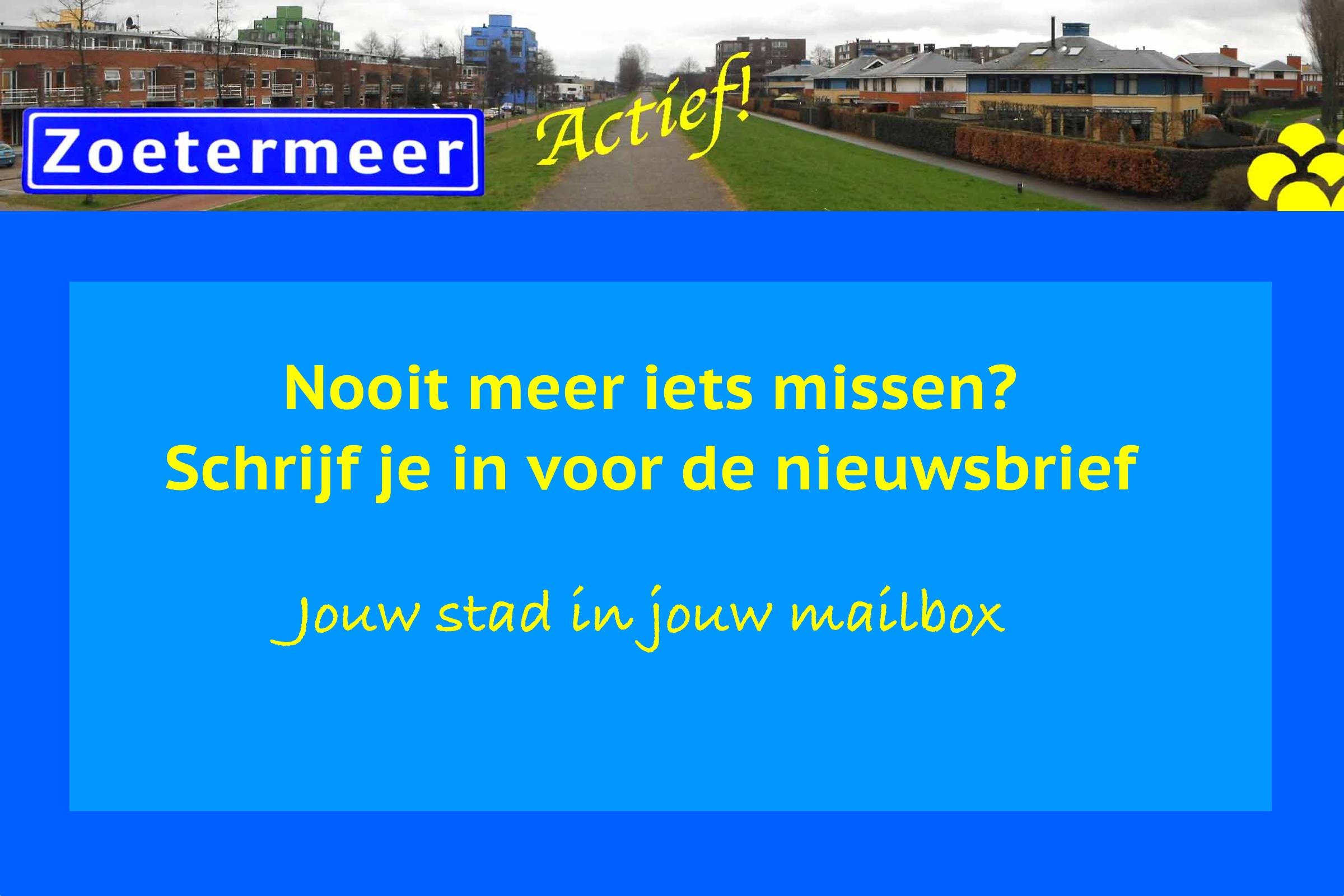 Nieuwsbrief Zoetermeer Actief