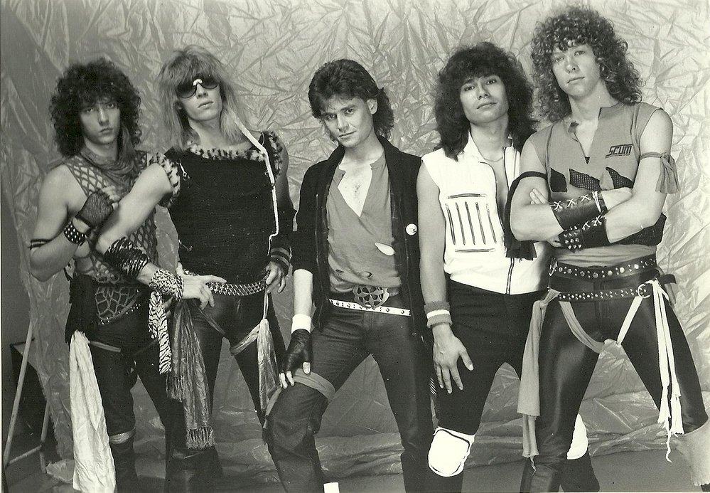Rockbands jaren 80