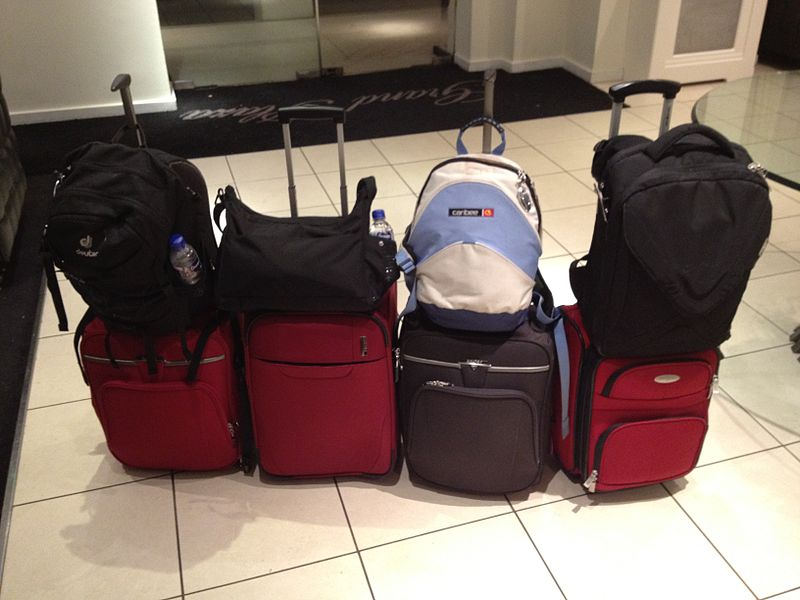 All our luggage